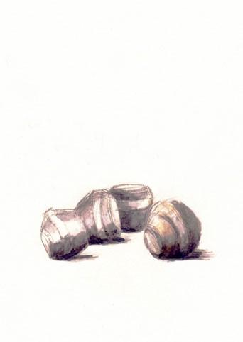 Moulages de bétonnière